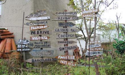 Camín del Fito a Covadonga.  1ª Etp. Caravia -Arriondas